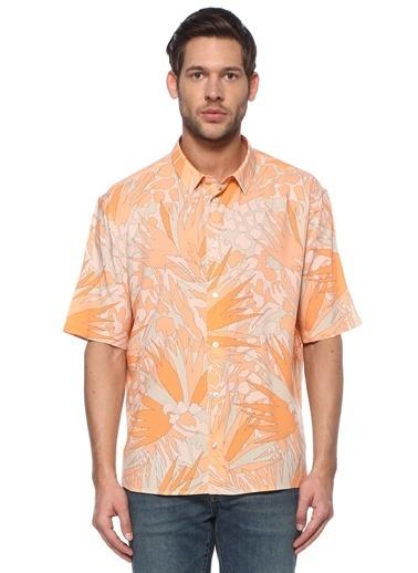 Saint Laurent Gömlek Oranj